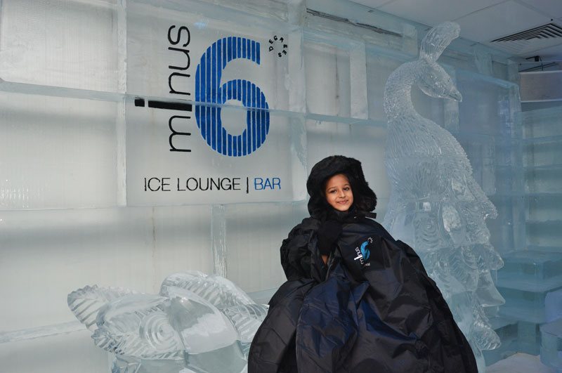 Minus 6 Ice lounge